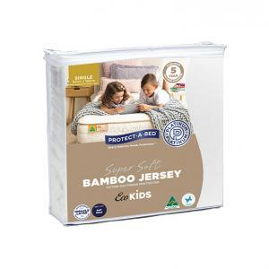 Eco Kids Bamboo Mattress Protector Single